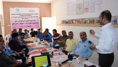 Photo of الامل تقيم ورشة تدريبية للقوات الأمنية في كركوك حول الجندر والعنف القائم على النوع الاجتماعي