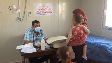 Photo of الامل تفتتح عيادة طبية للنازحين في مخيم حسن شامي 2