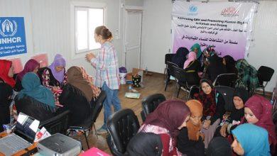 Photo of ورشة تدريبية داخل مخيم داقوق في كركوك حول العنف القائم على النوع الاجتماعي