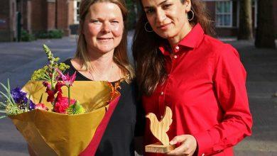 Photo of منظمة PAX الهولندية تمنح الناشطة سرود حمامة السلام