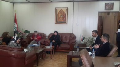 Photo of Iraqi Women Network Delegation Meets with the General Director of Woman Empowering  Directorate
