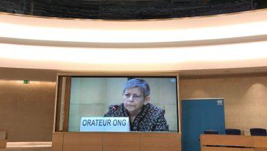 Photo of وفد جمعية الأمل العراقية في اجتماعات مجلس حقوق الإنسان في جنيف